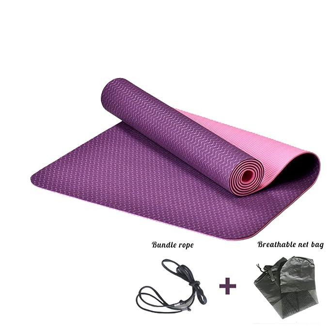 SpLYJ Tasteless TPE Yoga Mat Antideslizante Deportes Yoga ...