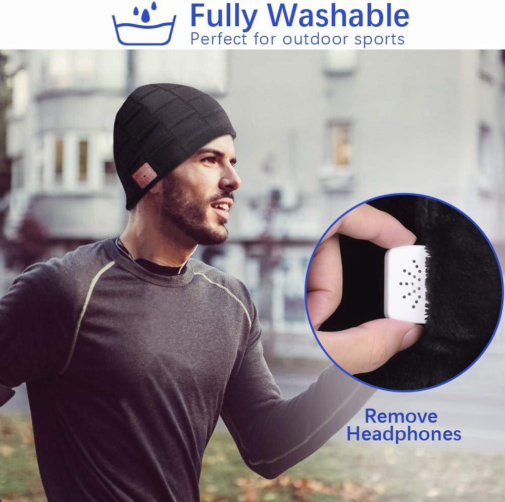Amazon.com: Gorro con Bluetooth, para hombre, con ...