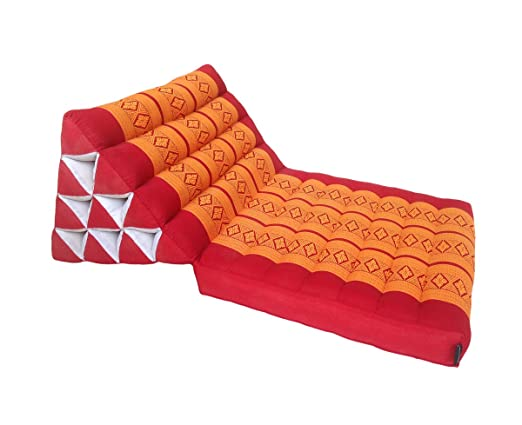 Colchón de meditación tradicional Thai Kapok, con cojín de ...