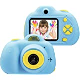 ShineLife Kids Camera, Digital Video Camera Gift for Age 3 4 5 6 7 8 9 10 Year Old Girls, Mini Rechargeable and Shockproof Camera Creative DIY Camcorder