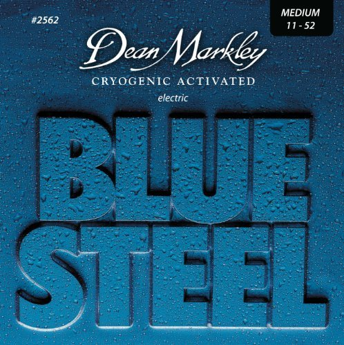 Dean Markley Blue Steel Cryogenic Activated Guitar Strings,