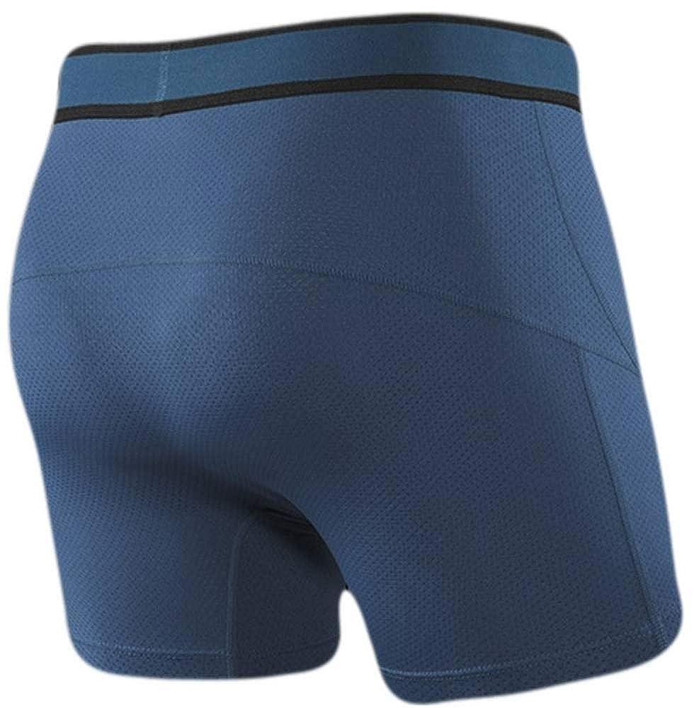 SAXX Mens Kinetic Boxer Brief Underwear Velvet Crush Blue M