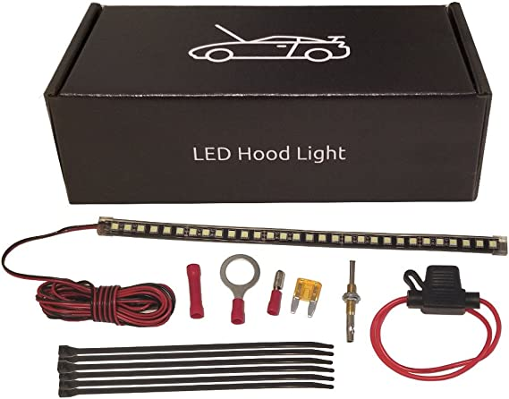 [WLLP_2054]   Amazon.com: Check It Auto - Under Hood LED Light Kit - Automatic on/Off:  Home Improvement | Led Light 12v Wiring Diagram Pro Burner |  | Amazon.com