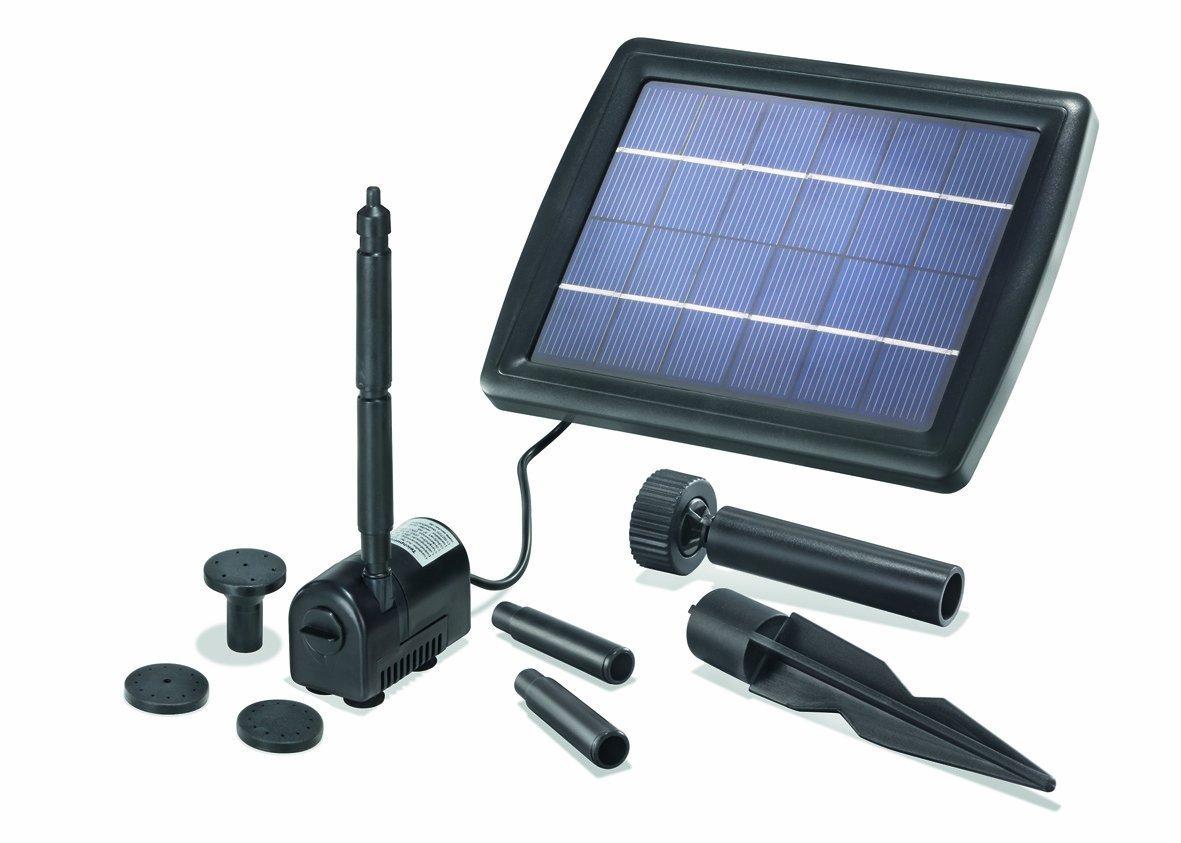 BUVTEC Pompe solaire pour bassin Débit 175/2: 50–70cm Hauteur de refoulement de bassin