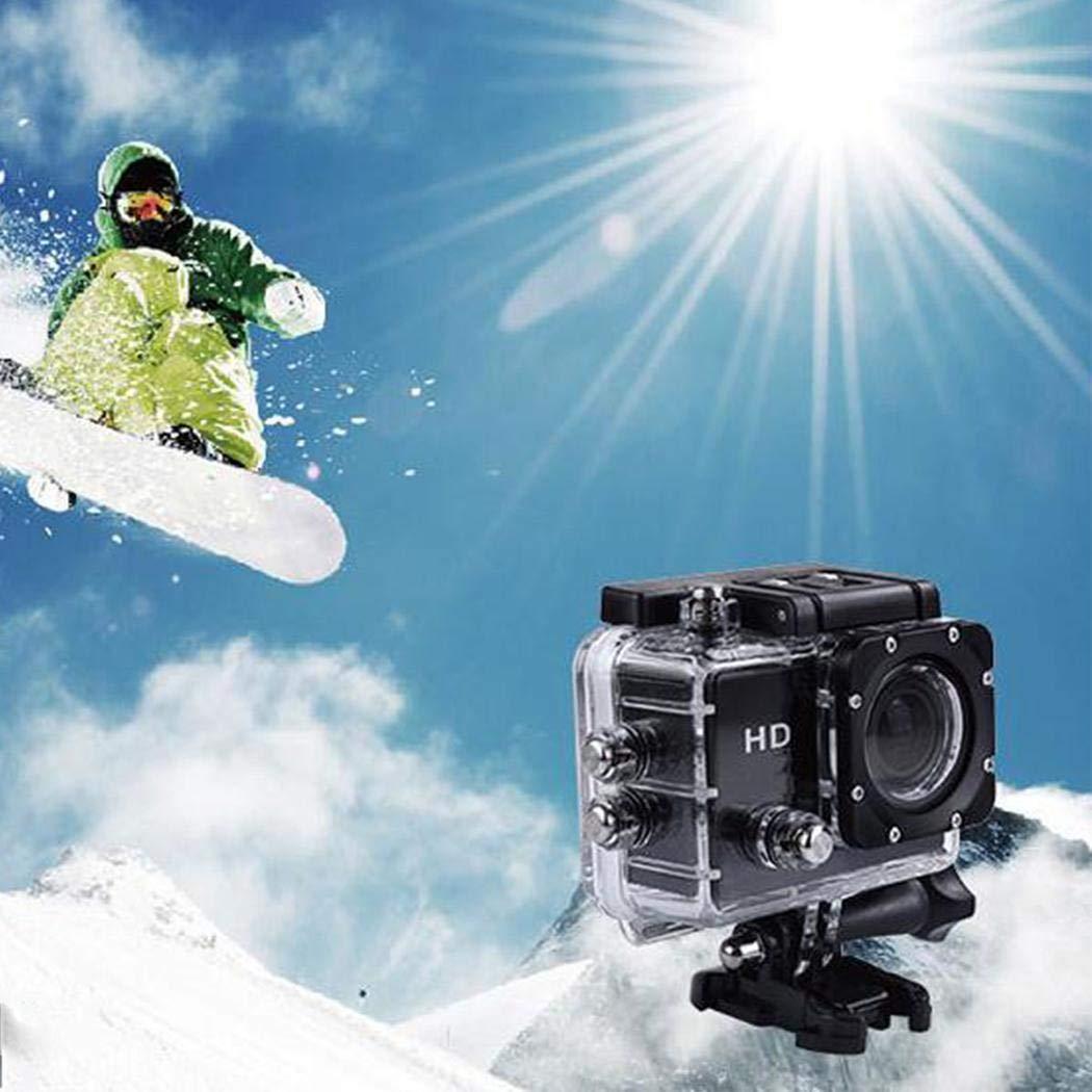 ilonti HD 1080P Deportes al Aire Libre cámara DV grabadora Impermeable Cámaras