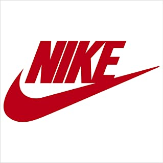 amazon com nike just do it logo vinyl sticker decal black 4 inch rh amazon com Nike Logo HD Nike Galaxy Logo