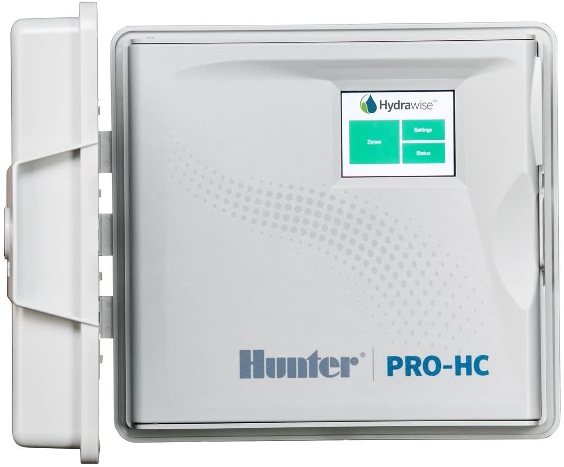 12 Station SPW Hunter PRO-HC PHC-1200i 12 Zone Indoor Residential//Professional Grade Wi-Fi Controller With Hydrawise Web-based Software Internet Android iPhone App