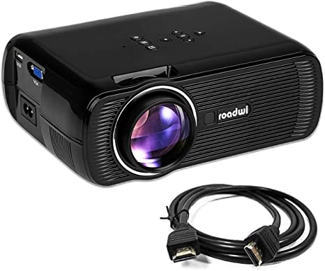 roadwi película proyector Apoyo Mini Proyector portátil 1080P HDMI ...
