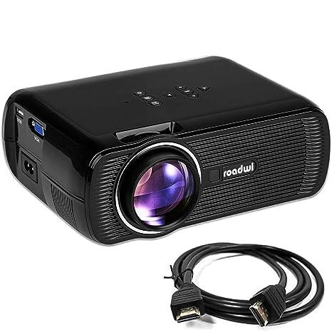 roadwi película proyector apoyo Mini Proyector portátil ...