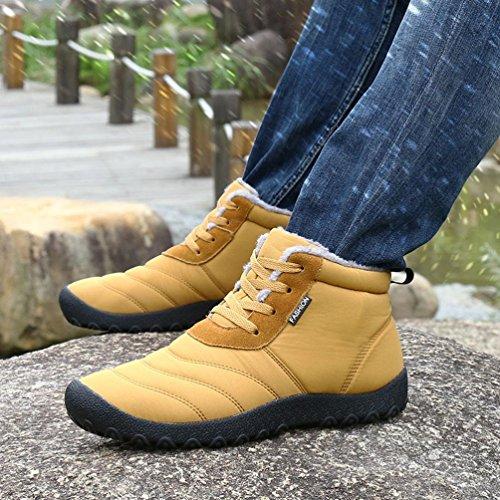 Chaussures Femme TM à Décontractées de Sneakers Chaussures Jaune Coloré Talons Hiver de Couple Modèles Baskets Imperméables Chaussures Chaussures Bottes Sport Homme Hauts 0OSqSapW