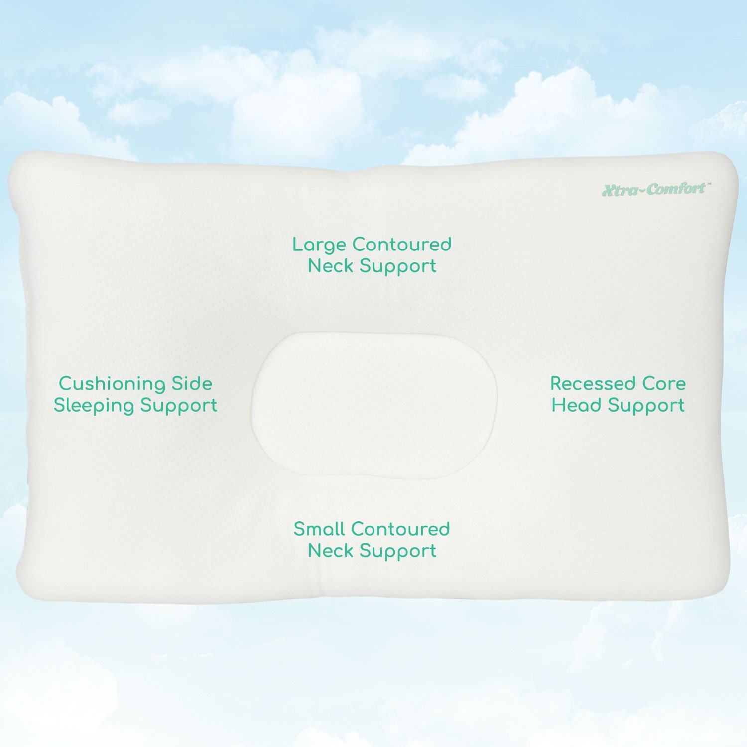 spine sleepers neck back best chiropractic support experience dp a amazon alignment com and pillow oml bodymed for side spondylosis cervical