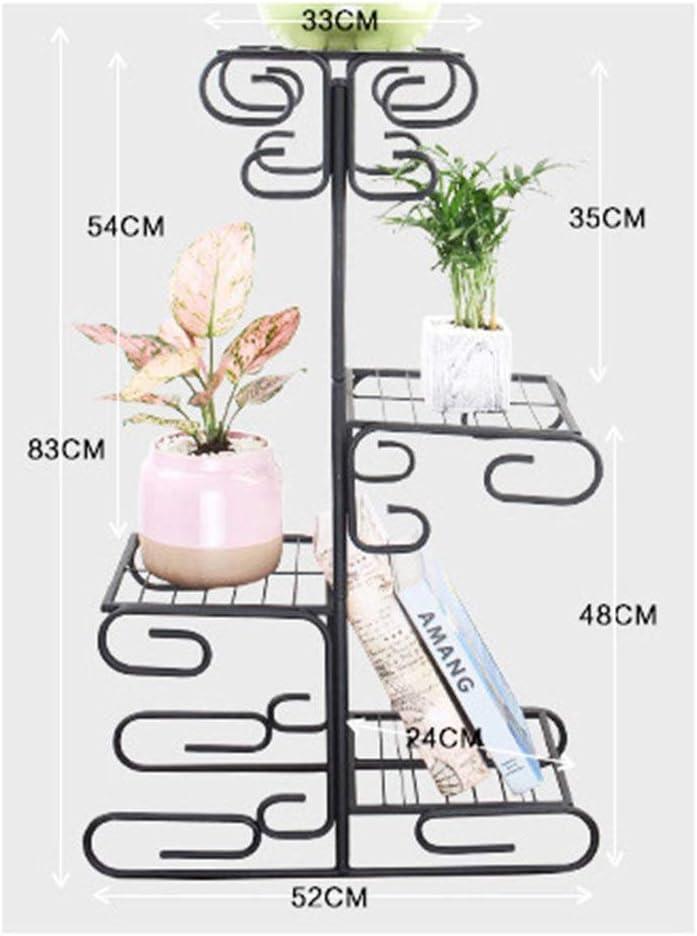 Guolipin Blumenregal Inicio Planta Metal Forma de árbol Plantas de ...