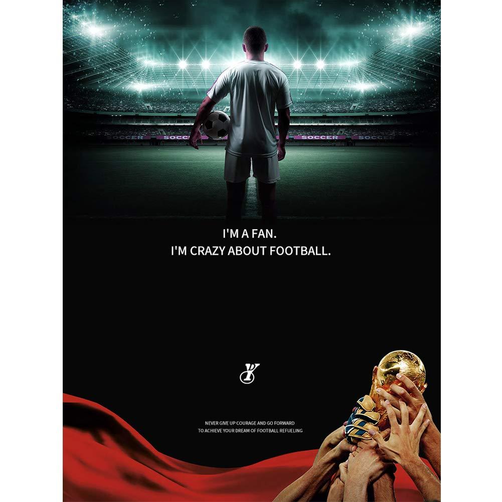 atmungsaktives und bequemes Fu/ßball-Set FNBA Bar/ça # 10 Messi # 17 Griezmann # 9 Suarez # 3 Pique Herren-Fu/ßballtrikot und Shorts Zweiteiliger Anzug