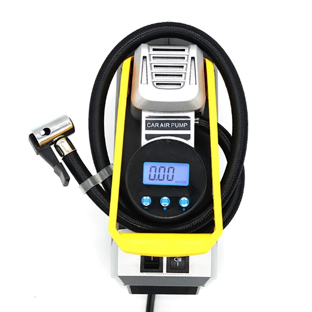 XPZ00 Car Air Pump Single-Zylinder 12V Portable Pre-Set Reifendrufe Multifunktionsgerät