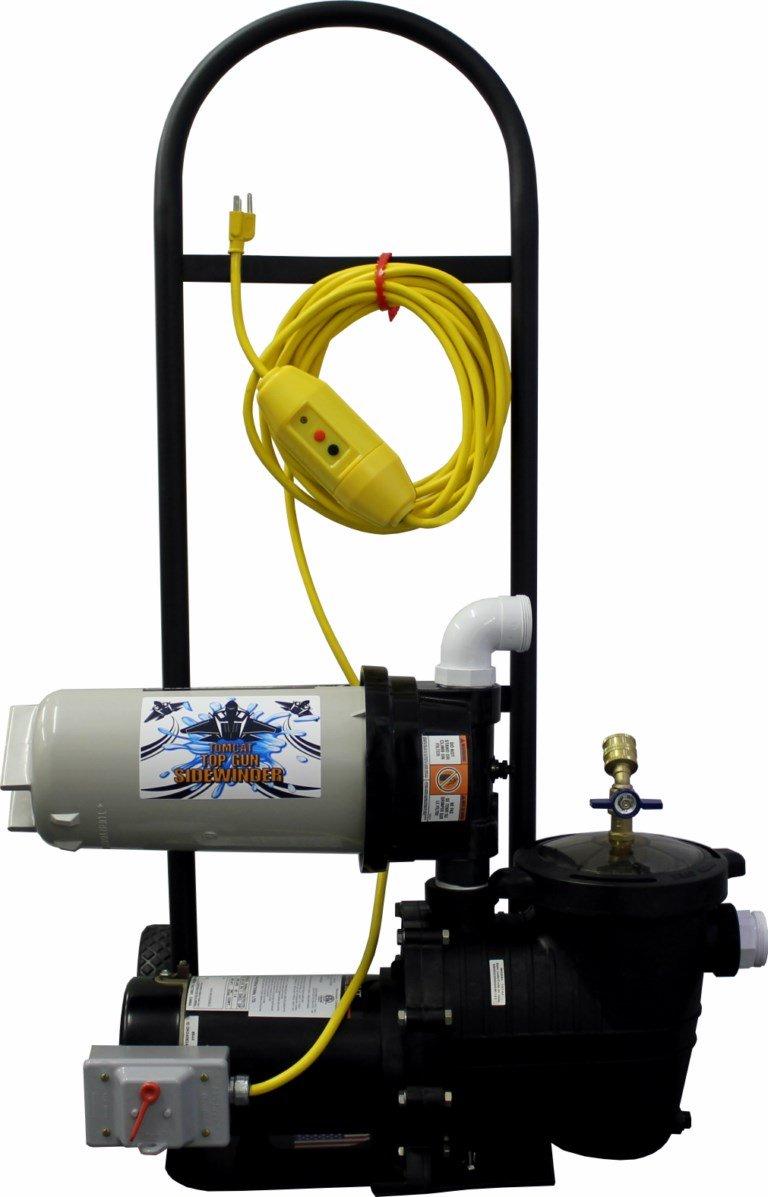 Attrayant Amazon.com : Tomcat® Top Gun Sidewinder Portable Pool Vacuum System :  Swimming Pool Handheld Vacuums : Garden U0026 Outdoor