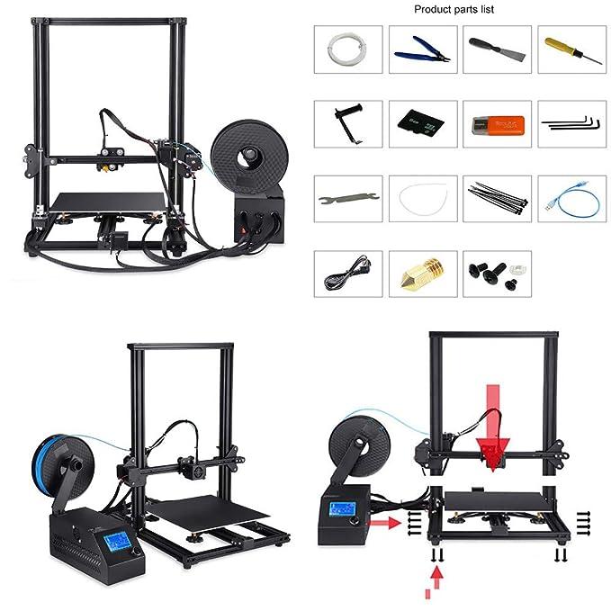 Impresora 3D con Eje Z Simple para ImpresióN De Alta PrecisióN ...