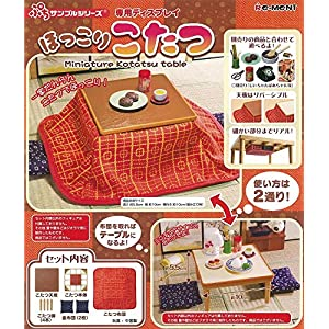 Petit sample unwind kotatsu BOX commodity 1BOX = 3 pieces, all one by RE-MENT
