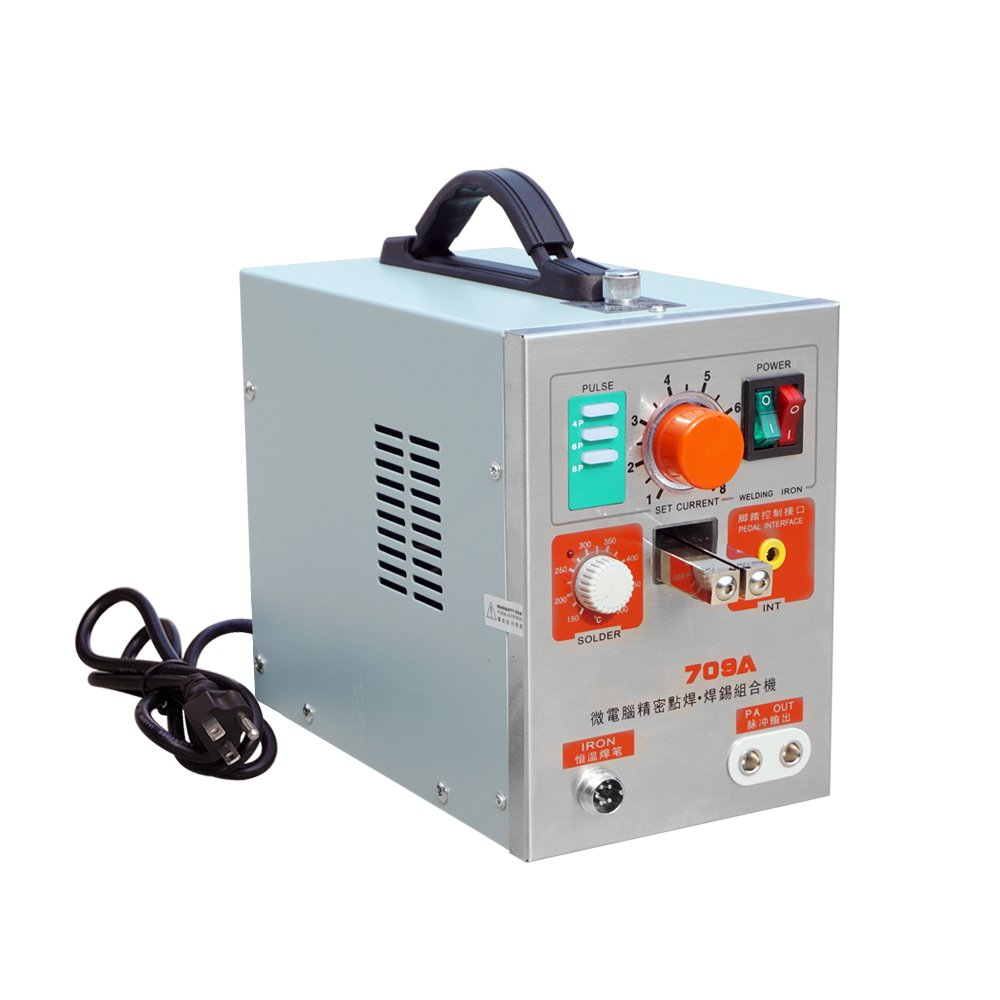 Fisters 709a Led Pulse Spot Welder Weld 18650 Battery Welding Arc Machine Diagram With Charger 110v