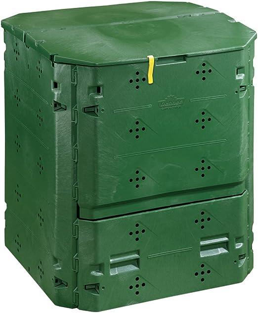 Dehner - Compostador térmico, 420 L, Aprox. 84 x 74 x 74 cm ...