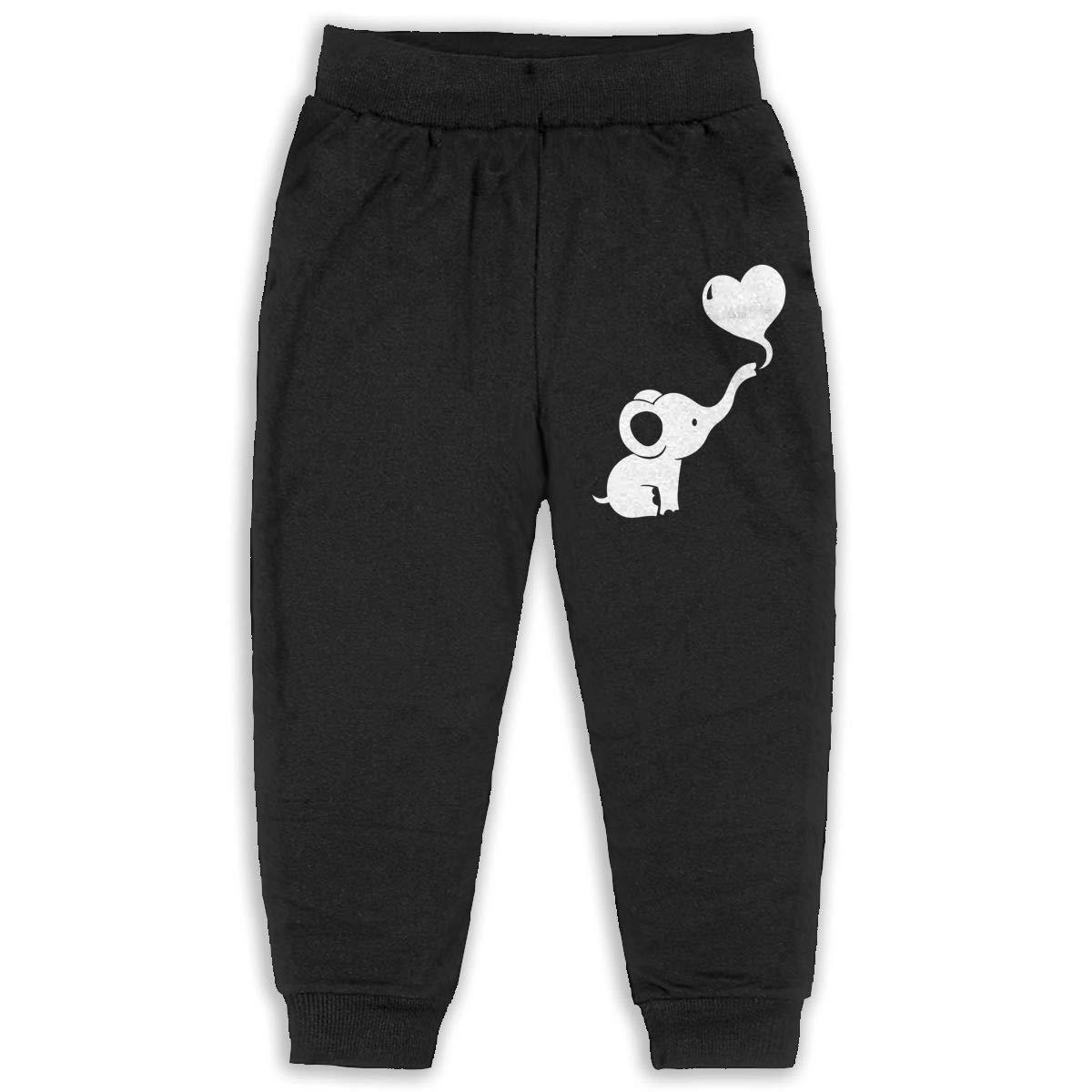 Child GHYNJUM Baby Elephant Dumbo Heart Cute Unisex 2-6T Autumn Winter Cotton Fashion Pants
