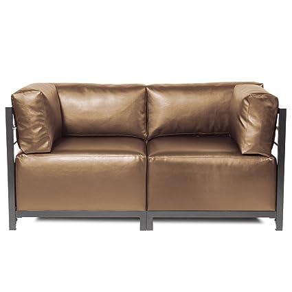 Bon Howard Elliott K922T 772 Axis Sectional Sofa With Titanium Frame, Luxe  Bronze, 2
