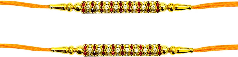 Metalwork Redcolor Thread Raksha bandhan Gift for Your Brother 7 ...