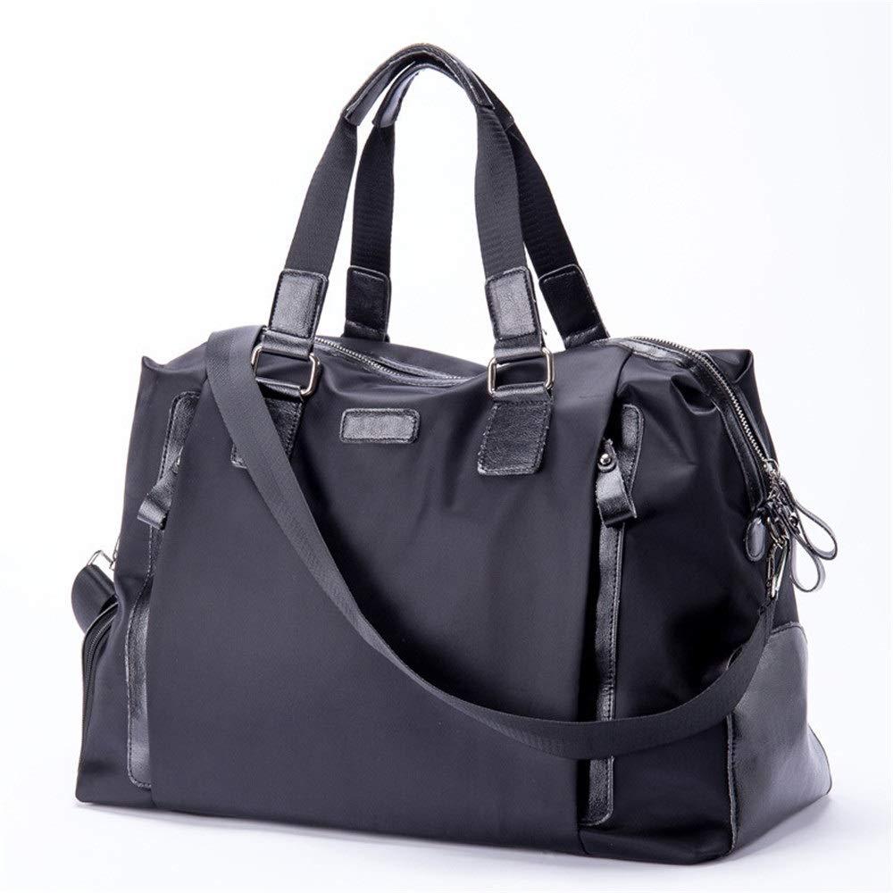 TAESOUW-Accessories Men's Clothing Golf Bag Large Capacity Lightweight Travel Bag Black Outdoor Gym Fitness Handbag Travel Sports Backpack (Color : Black, Size : 493124cm) by TAESOUW-Accessories