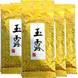 Japanese Tea Shop Yamaneen Gyokuro tea Green tea of the highest quality tea Uji-shi, Kyoto 100g. x 6packs