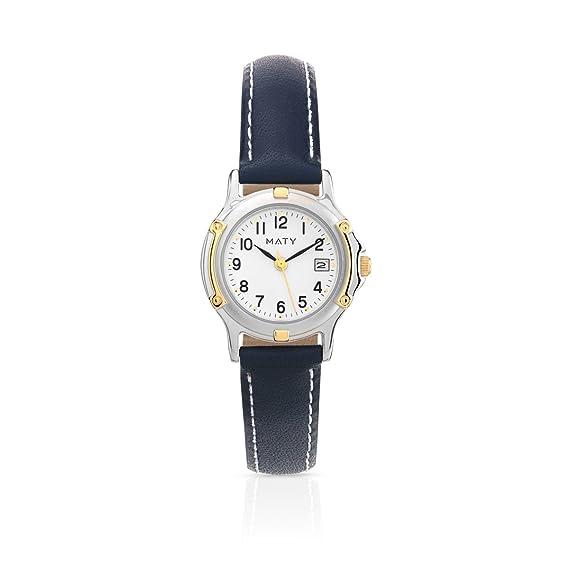 MATY – 0204412 – Reloj Mujer Pulsera Piel