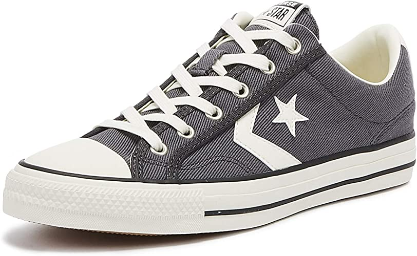 Converse Star Player Ox Herren Sneaker Grau:
