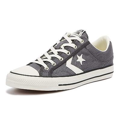 Converse Star Player Ox Herren Sneaker Grau: