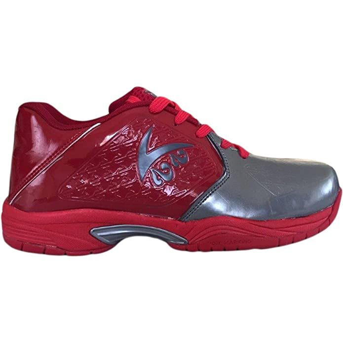 6afaa20a352 V22 Champ Tennis Shoes - Grey Red  Buy Online at Low Prices in India -  Amazon.in