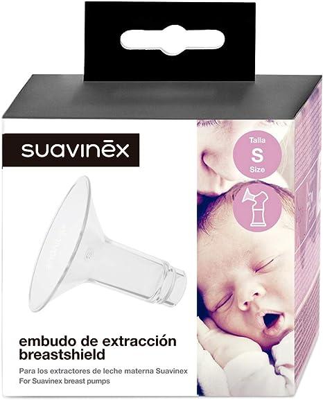 Suavinex - Campana para extractor de leche materna talla S. Embudo para Sacaleches: Amazon.es: Bebé