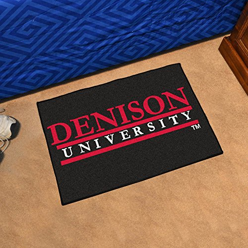 FANMATS NCAA Denison University Big Red Nylon Face Starter Rug