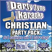 Party Time Karaoke - Christian Party Pack (64 song) [4 CD+G]