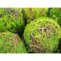 rackcrafts.com Dried Organic Moss Wicker Twig Straw Rattan Balls Table Decor Wedding Bridal