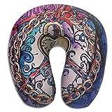 Scorpio World Peace Support Travel Pillow Spa U SHAPE For Sleeping People
