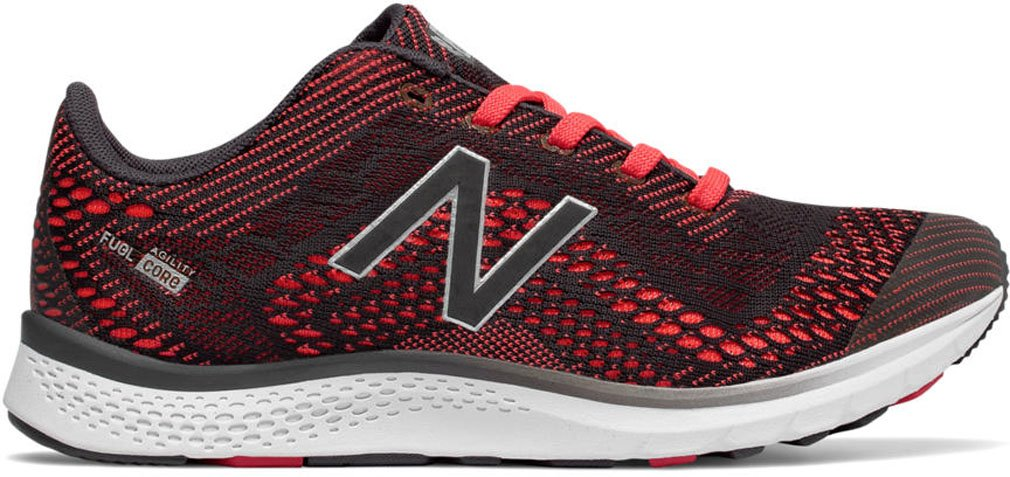 New Balance Women's FuelCore Agility v2 Cross Trainer B01N2XMCAL 10 B(M) US|Red/Grey