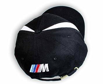 BMW negro gorra BMW///M Back Logo nueva Colección 2016 calidad mejorada: Amazon.es: Coche y moto