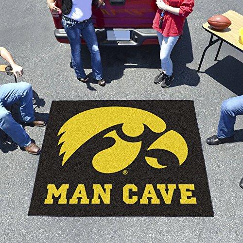Rug Tailgater Iowa - Fanmats Collegiate University of Iowa Man Cave Tailgater Outdoor Area Rug