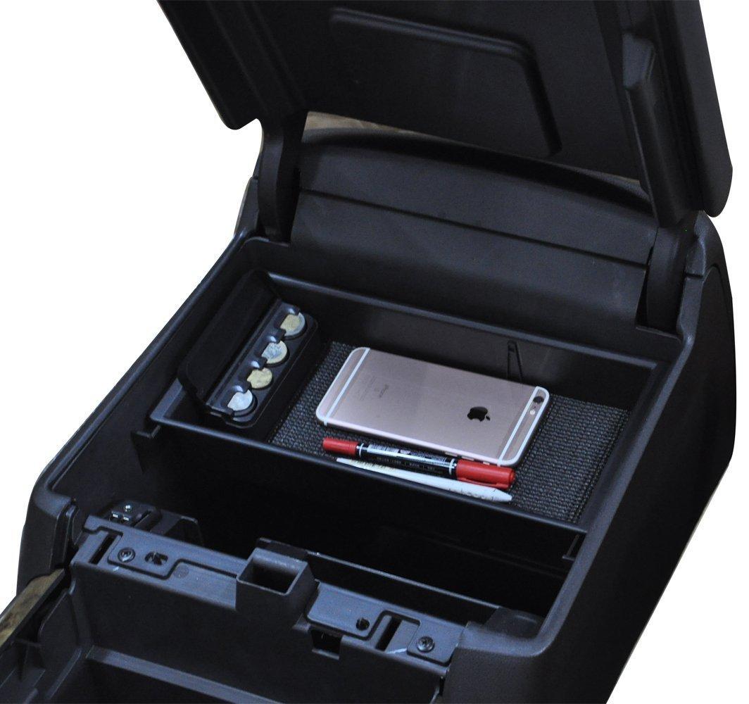 Fits 2014 to 2019 Chevy Silverado Center Console Organizer Tray for GMC Sierra