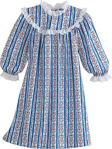 Lanz of Salsbury Little Girls' Toddler Girls Navy Novelty Gown, Navy, 2T from Lanz of Salsbury