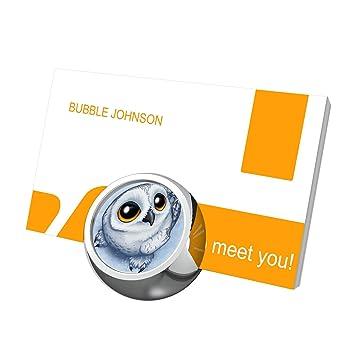 Futuroo Elephant Pour Cartes De Visite Desk Affichage Carte Mignon Personnalisee Luxe