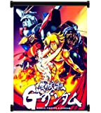 """Mobile Fighter G Gundam Anime Fabric Wall Scroll Poster (16"""" x 21"""") Inches"""