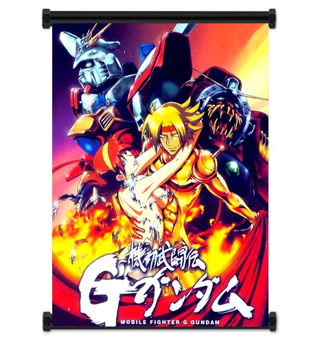 Mobile Fighter G Gundam Anime Fabric Wall Scroll Poster (16