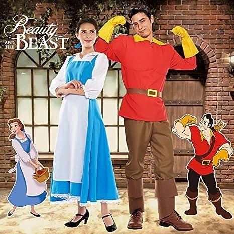 Amazon.com: Disney bella y la bestia Gaston disfraz para ...