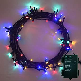 20 BATTERY OPERATED LED STRING FAIRY LIGHTS XMAS PARTY CHOOSE COLOUR *UK SELLER*