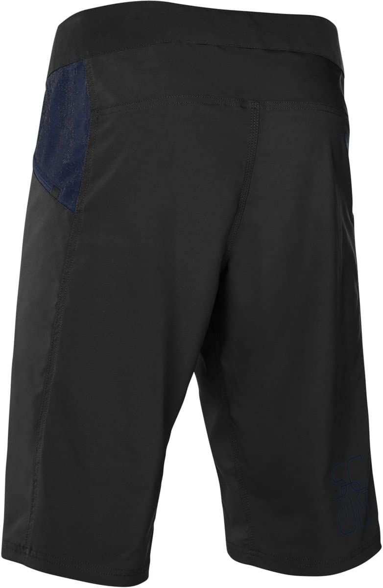 Color Negro ION Pantalones Cortos de Ciclismo Scrub 2018