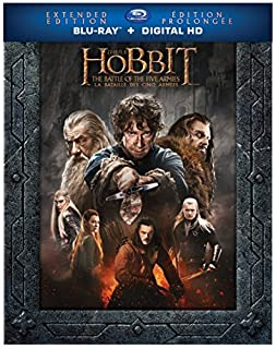 The Hobbit: The Battle of the Five Armies (Extended Edition) (Bilingual)[Blu-ray + Digital Copy] (B00XSXF3VC) | Amazon Products