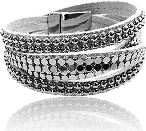 Jewelry Silver Wrap Around Bracelet - 1